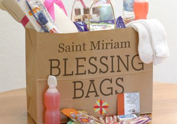 """Food """"Blessing Bags"""" Come to Saint Miriam!"""