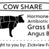 ORDER SOON – The Deadline is Fast Approaching ... We're Having a Another Cow Share!