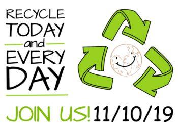 National Recycling Day – November 10, 2019