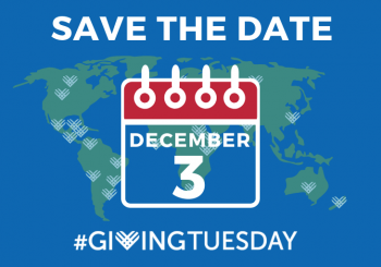 Giving Tuesday – December 3rd, 2019