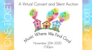 2020 concert auction ticket